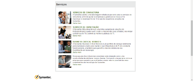 Symantec Serviços