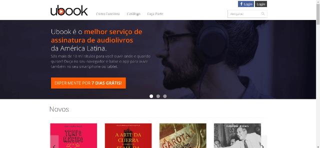 Pagina Inicial Ubook