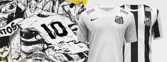 Camisa oficial - Vila do Santos