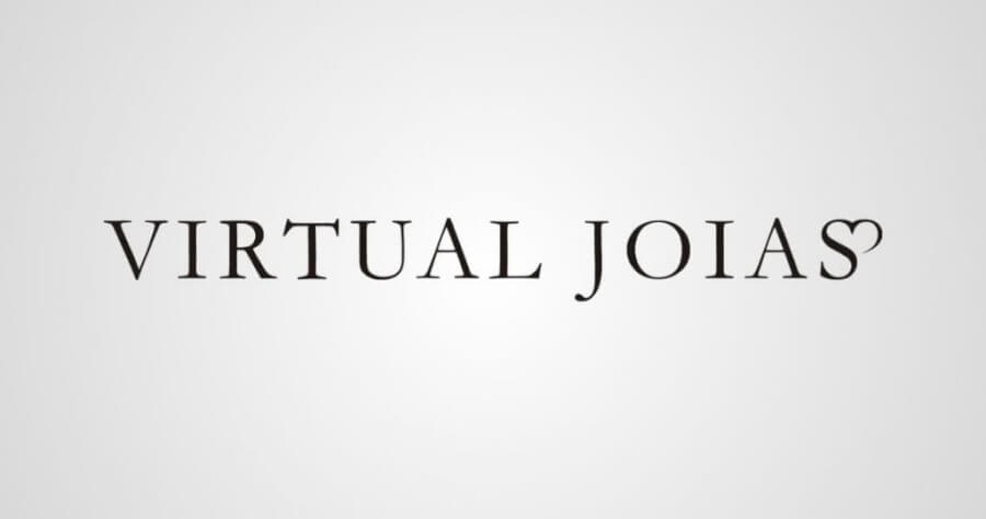 Logotipo Virtual Joias