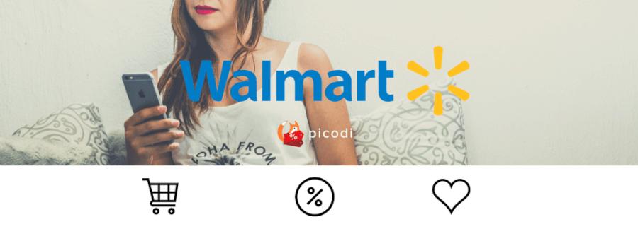 Banner com logomarca Walmart