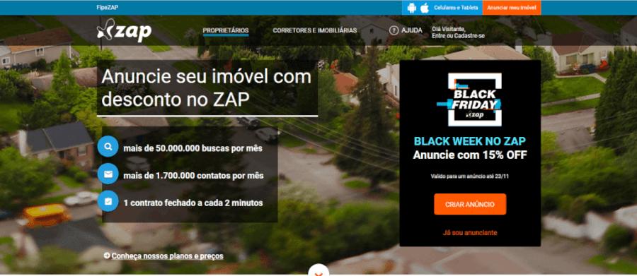 Pagina Inicial Zap Imóveis