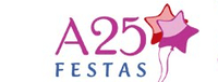 Cupons de desconto A25 Festas