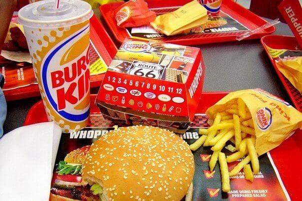 Еда в Burger King