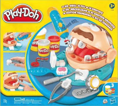 Набор Play-Doh «Доктор Зубастик»