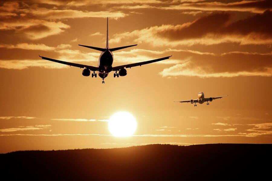 Самолет на заказе