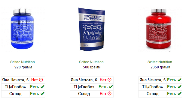 Протеин Минск