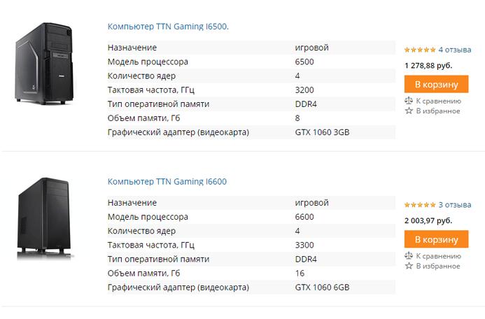 ТТН — каталог интернет-магазина