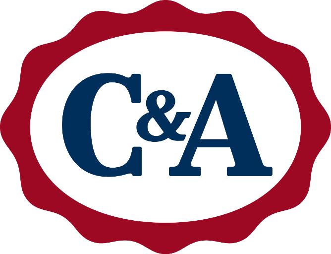 Das Logo der Firma C&A