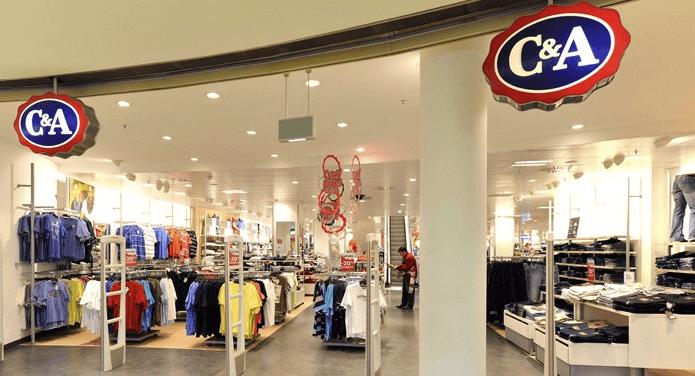 Der C&A Online-Shop