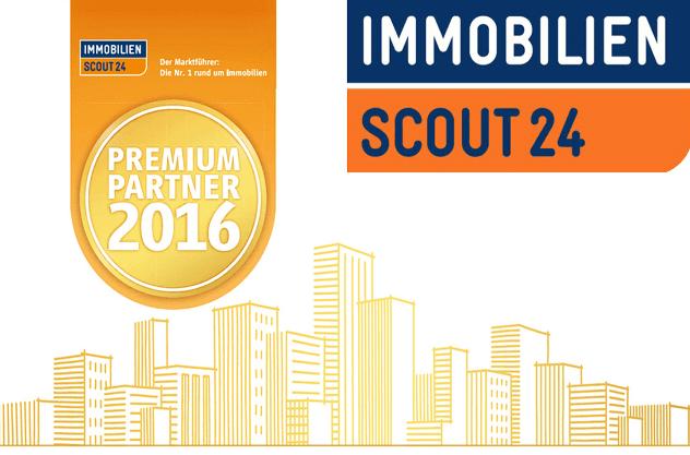 ImmobilienScout24 wurde zu dem Immobilien Partner 2016 genannt