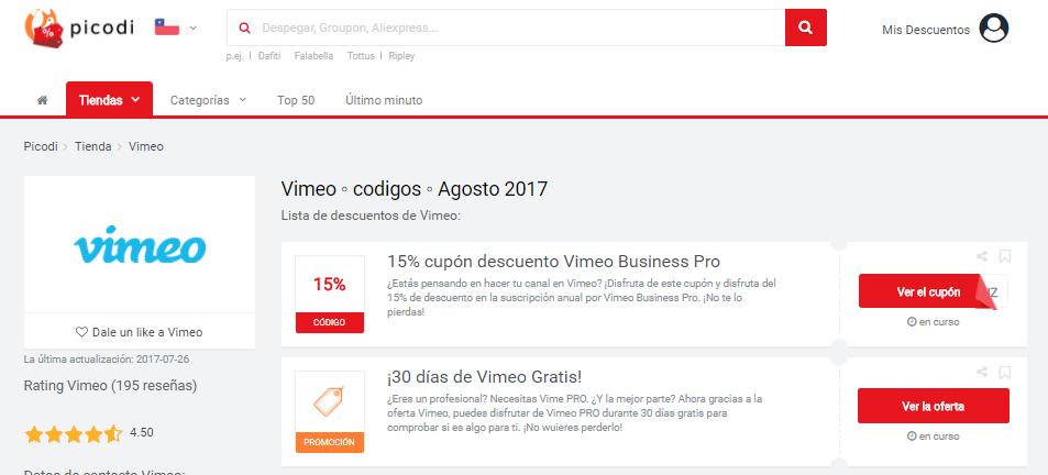 vimeo promociones picodi
