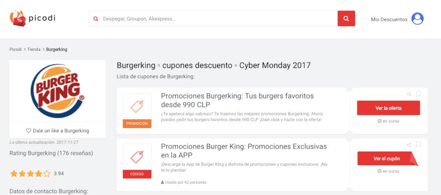 ofertas burgerking