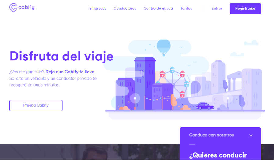 cabify pagina web
