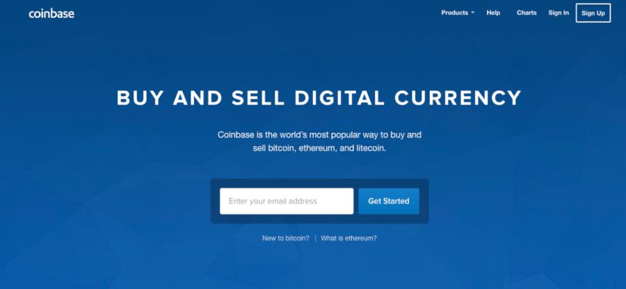 coinbase web