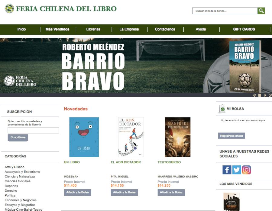 promociones feria chilena del libro