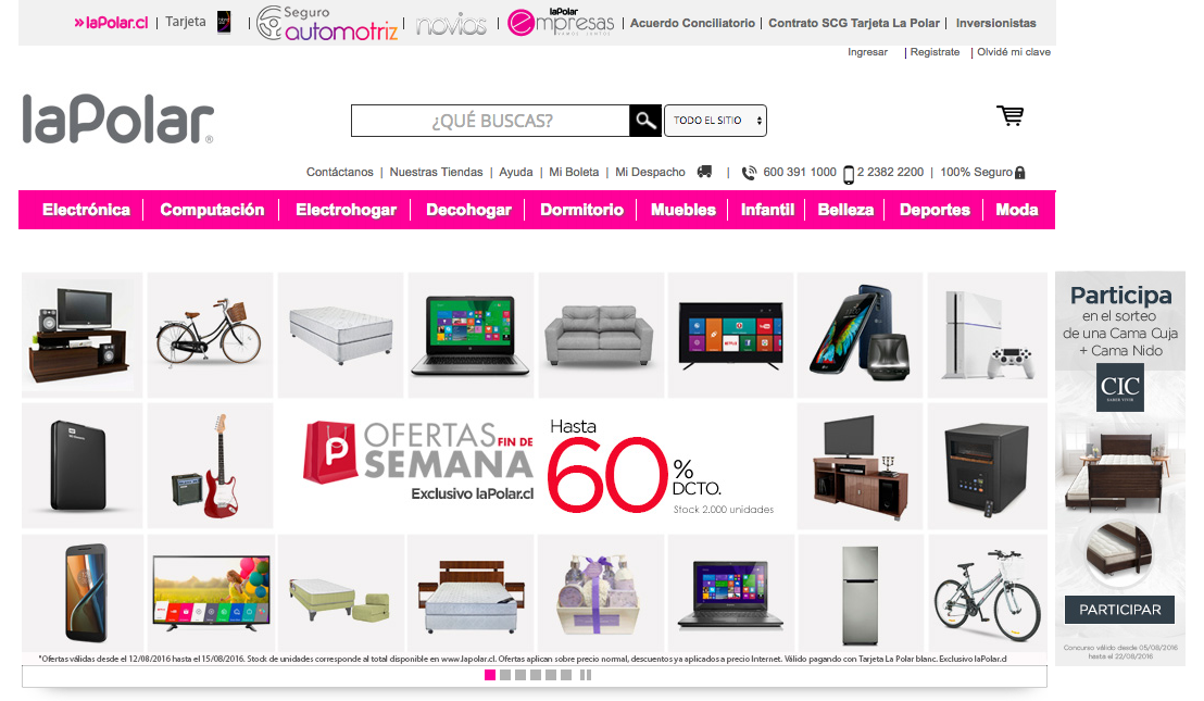 lapolar homepage