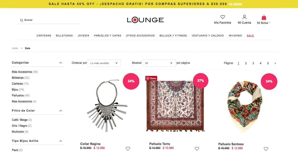 ofertas Lounge