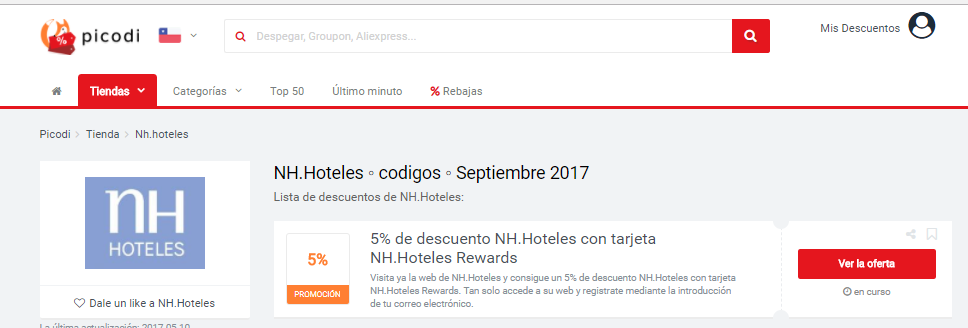 n hoteles promociones picodi