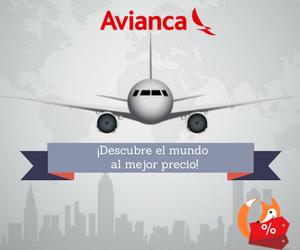 ¡Viaja con Avianca!