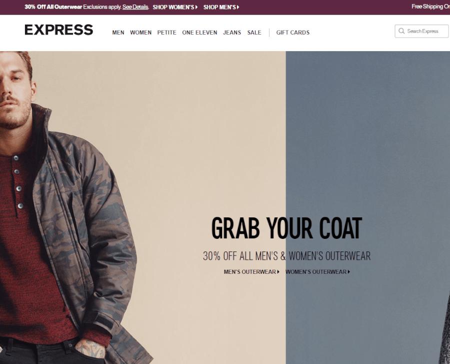 pagina express
