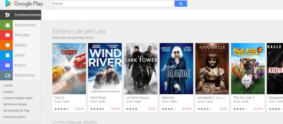 pagina google play