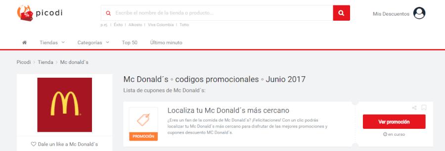 ofertas mcdonalds