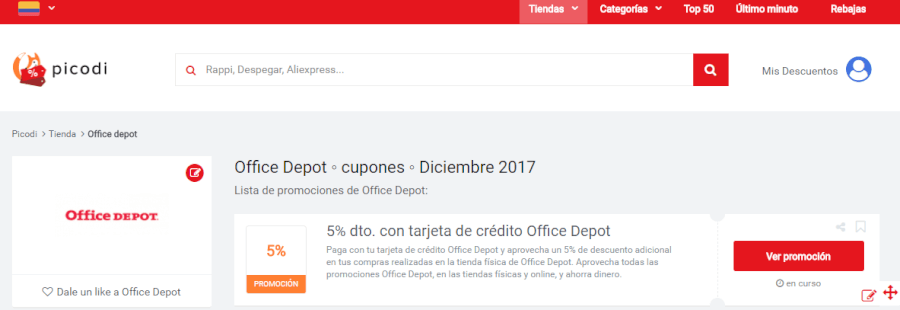 promociones de office depot