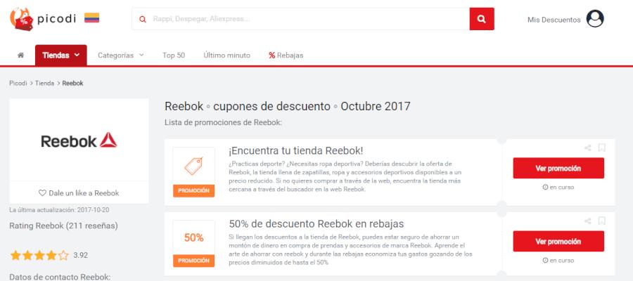 promociones de reebok