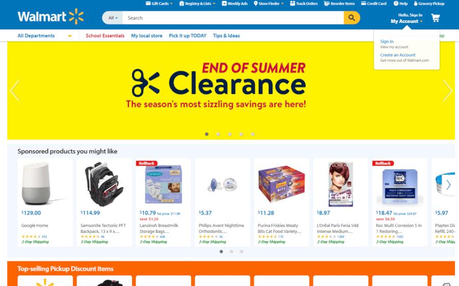 descuentos Walmart