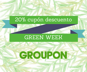 Goza de Groupon Green Week