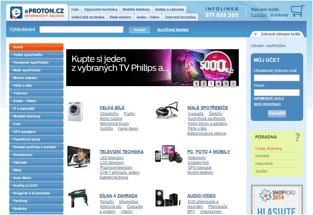 e-shop eproton
