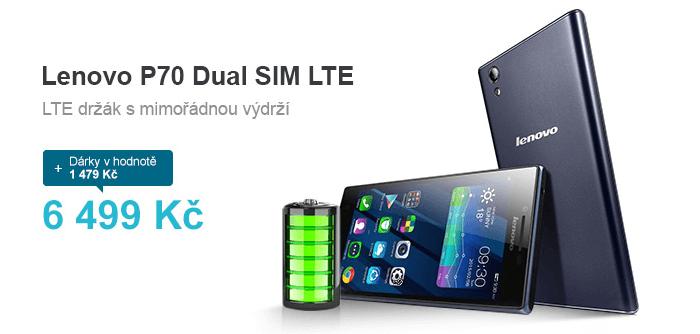 Sleva na Lenovo P70 Dual sim mobil.cz