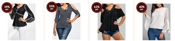 Sleva až 60 % na dámské oblečení na Rosegal.com