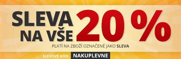 Sleva 20% na rozbaleno.cz