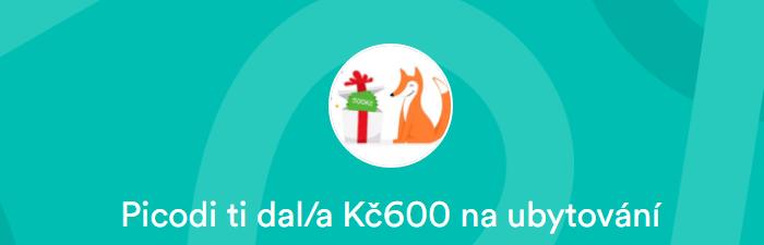Slevový kód 600 Kč na Airbnb.cz