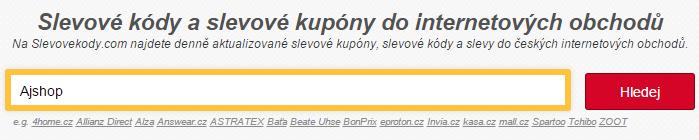 Sleva na Ajshop.cz