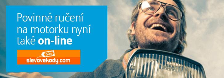 Povinné ručení na motorku online na Allianz Direct