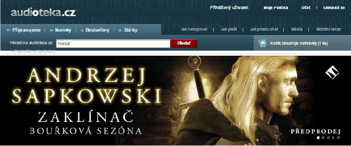 Slevové kódy audioteka.cz