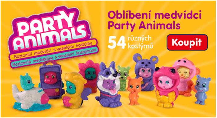 Slevový kód Party Animals