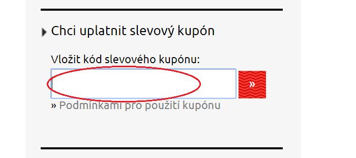 Vložení kódu na bike-eshop.cz