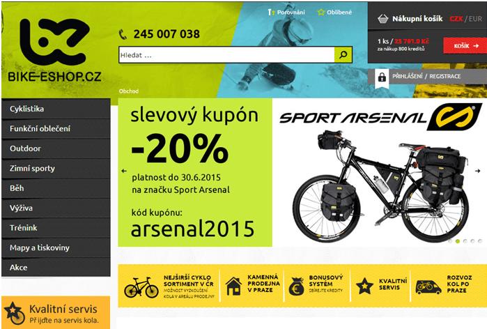Slevový kód bike-eshop.cz