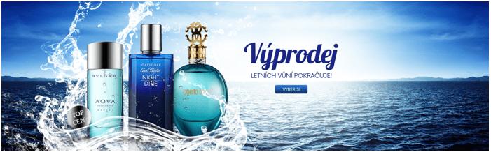 Parfémy za nízké ceny