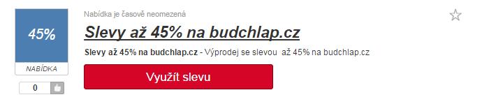 využití slevy budchlap.cz