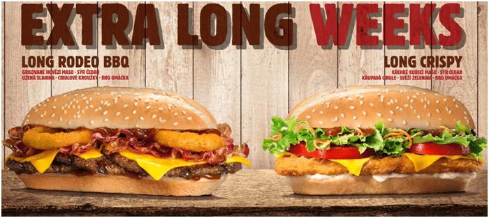 Slevy na burger king