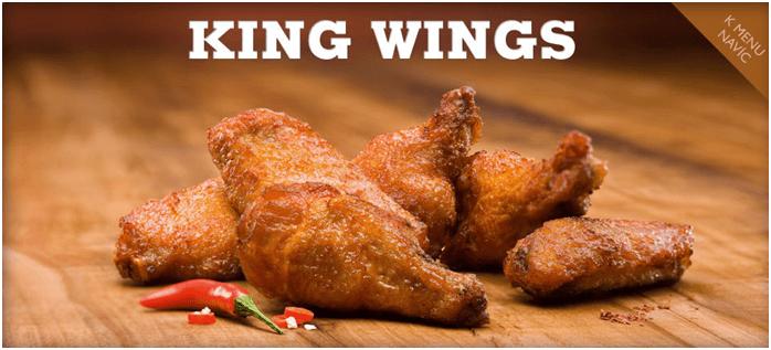 Sleva na King Wings
