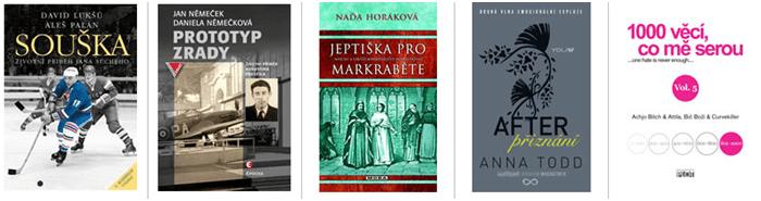 Slevy a populární knihy bux.cz