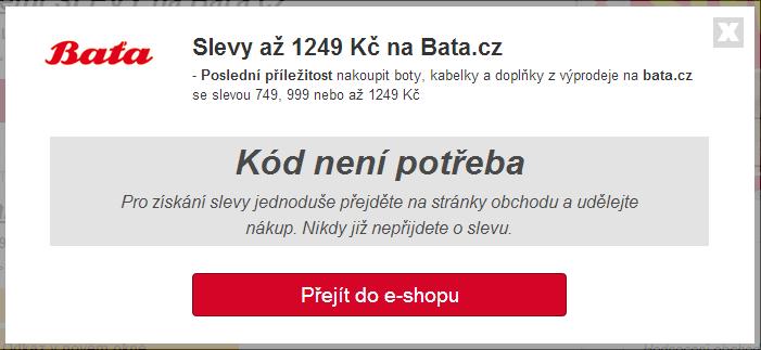 sleva bata.cz