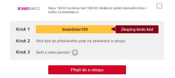 Slevový kód boardstar.cz