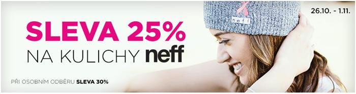 Sleva 25% na zimní čepice